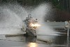 Photo taken by Craig Brown, splash!! (that's me in the photo, on my Vstrom)